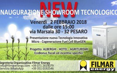 Inaugurazione nuovo Showroom Filmar Energy a Pesaro